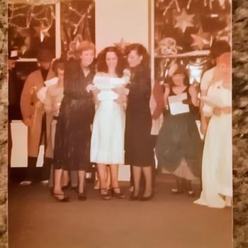 1979-xmas party dhss office at Edgbaston.  - Photographs