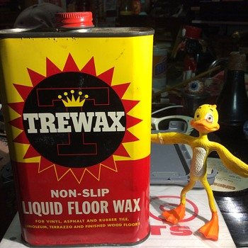Tree of Wax -melt ,Tree oF Life don't Duck it with TREWAX  - Advertising