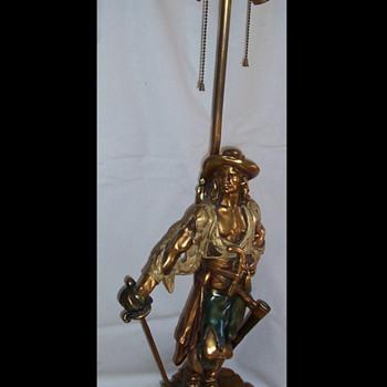 CAPTAIN KIDD LAMP - Lamps