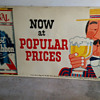 Large (rare?) Beer Sign