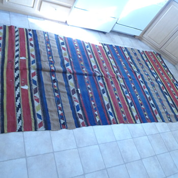 Woven Southwest-Mexico Rug - Rugs and Textiles