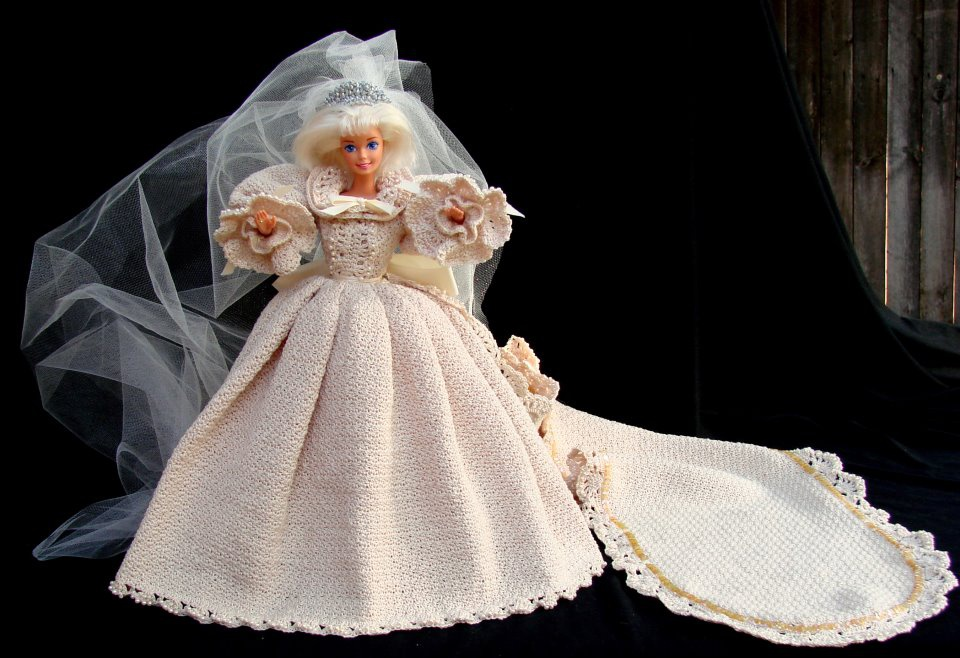 Hand Thread Crocheted Princess Diana Wedding Gown Replica Collectors Weekly