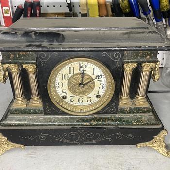 1800's era - pre Sessions era Welch mantle clock. - part 1 - Clocks