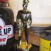 Phillips 66 serviceman statue