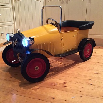 Show Tell Antique And Vintage Pedal Cars Collectors Weekly