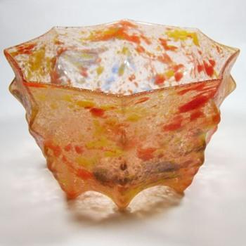Kralik Texture #1 - Glue chip - Art Glass