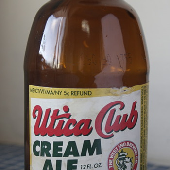Utica Club Cream Ale..... - Breweriana