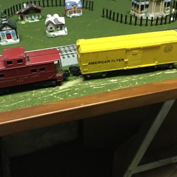 My inherited American flyer cars that I can find  - Model Trains