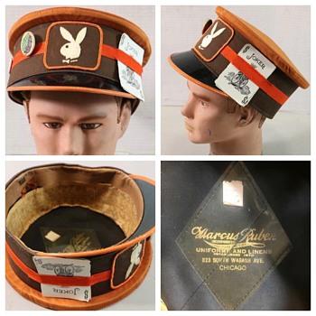 Vintage 50s/60s Playboy Doorman/Conductor Hat - Hats