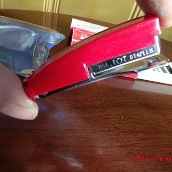 Little red Swingline Tot 50 stapler - Office