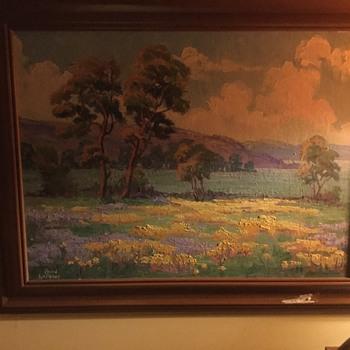 Original oil by bird le fever  - Fine Art