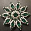 Kramer NY star flower brooch, Empress collection