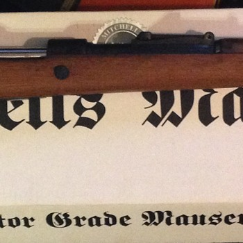 1938 K98 Nazi marked Mauser - Military and Wartime