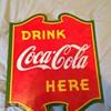 rare Coca-cola 1939 sign