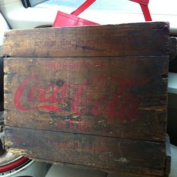 Coca Cola Syrup Jug box. - Coca-Cola