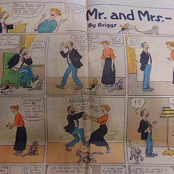 1920 Comics - Paper