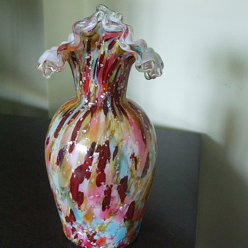 VASA MURRHINA in PASTELS by Stevens & Williams Glass Co, England - Art Glass