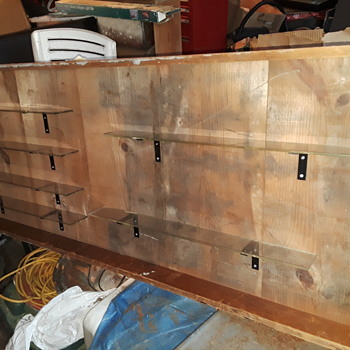 old organ pipe trays, gonna hold other stuff now... - Furniture