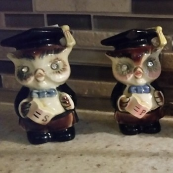 My First Owl Shaker Set - Has Been a Mystery  - Kitchen