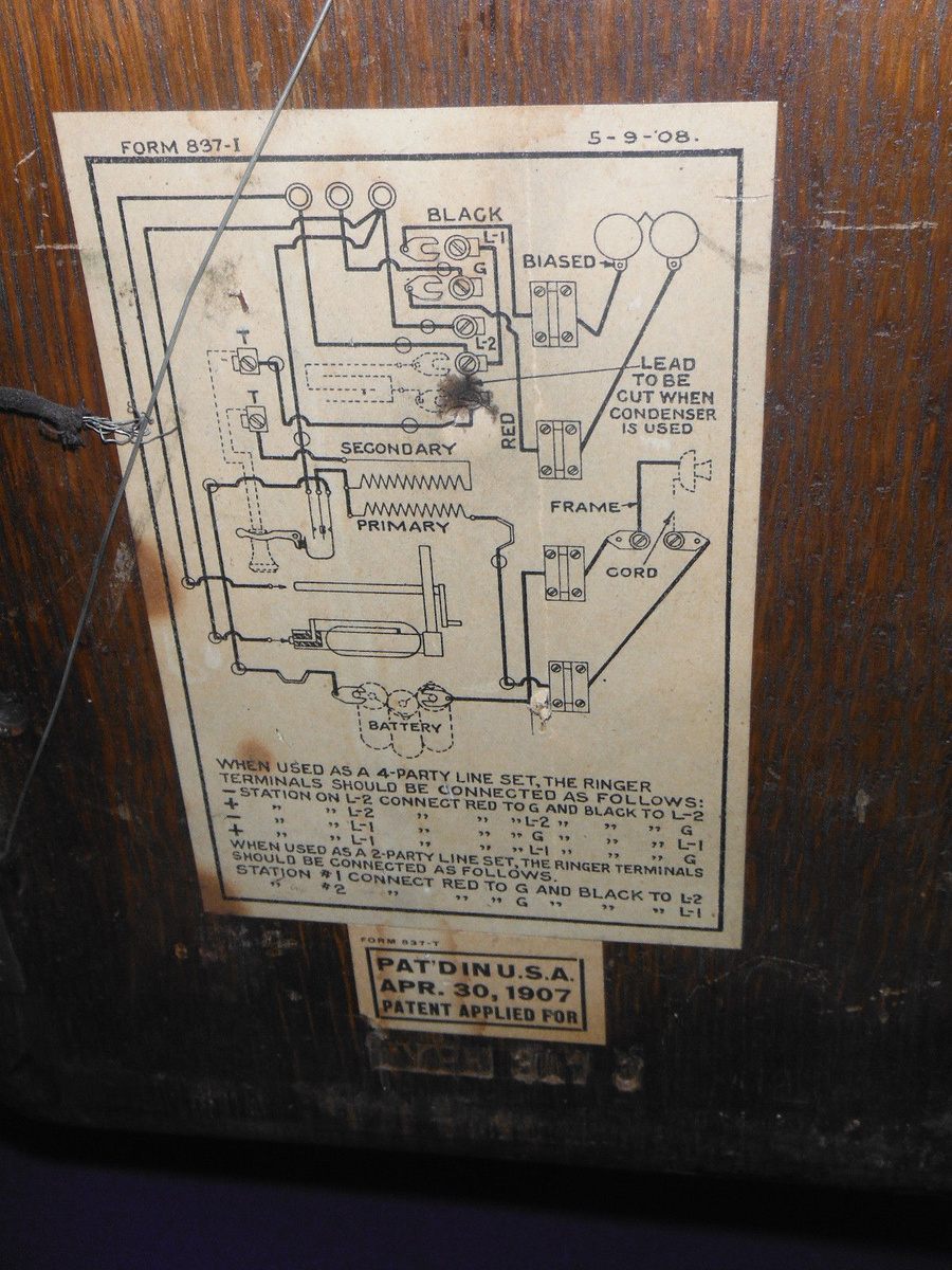 Need Western Electric Wiring diagram | Collectors Weekly on