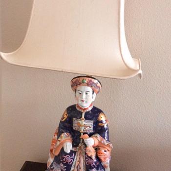 Porcelain lamp  - Lamps