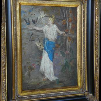 Art Nouveau/Victorian Painting - Fine Art