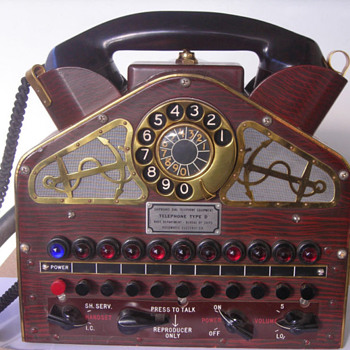 Navy Admiral's Command Telephone
