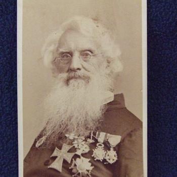 CDV of Samuel F.B. Morse