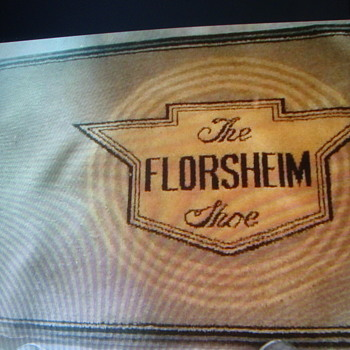 VINTAGE FLORSHEIN SHOE RUG........ - Advertising