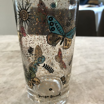 My grandmother's favorite glasses - Art Glass