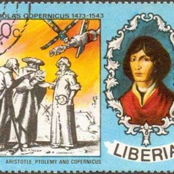 "1973 - Liberia ""Copernicus"" Postage Stamp - Stamps"