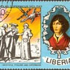 """1973 - Liberia """"Copernicus"""" Postage Stamp"""