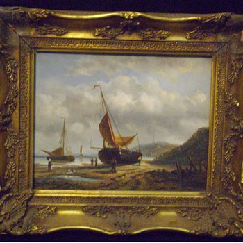 Oil painting on artist board - Fine Art