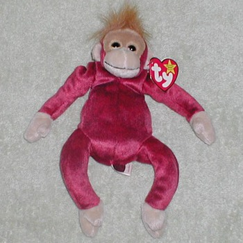 "1999 - TY Beanie Baby ""Schweetheart"" Monkey - Toys"