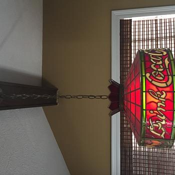 My Favorite Vintage Coca Cola Pendant Light  - Lamps