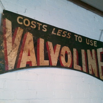 Valvoline ad found today! - Signs