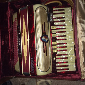 Old Adano Accordian - Musical Instruments