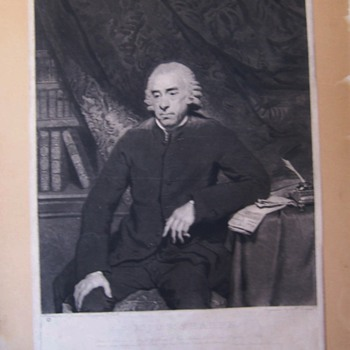 Mezzotint dated 1786