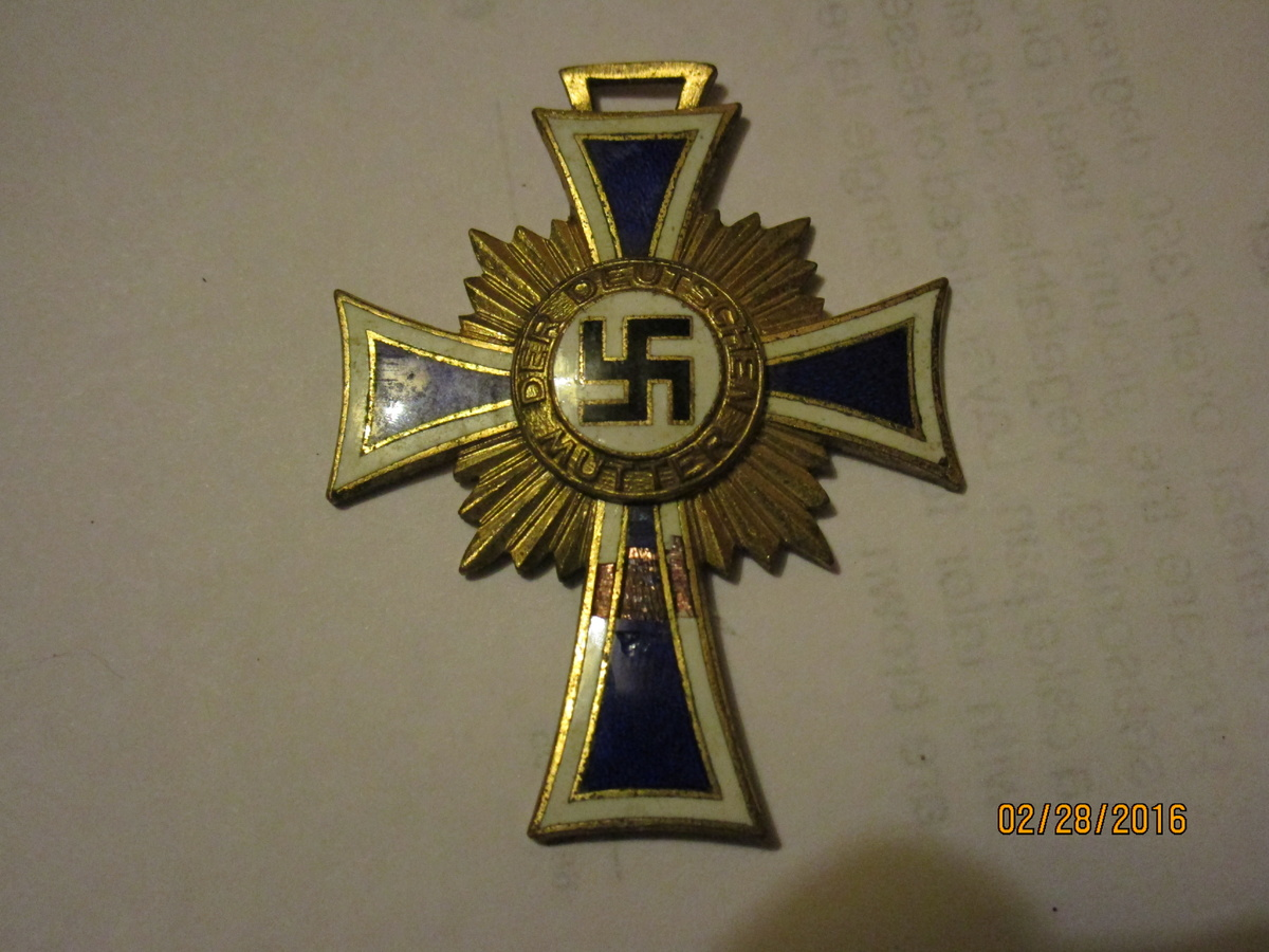 Nazi party mothers medal collectors weekly biocorpaavc Image collections