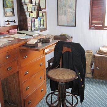 SS Ticonderoga Purser's office - Shelburne Museum - Office