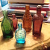 5 miniatures bottles
