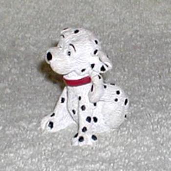 """""""Scratching Puppy"""" Dalmatian Figurine - Figurines"""