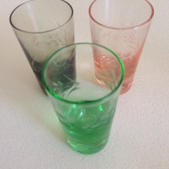 Mini Glasses - Glassware