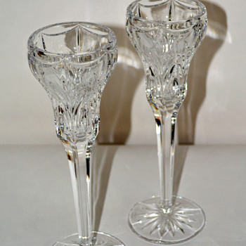 Marquis by Waterford Candlesticks - Glassware