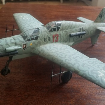 Vintage WW2 built model - Dornier Training plane? - Military and Wartime