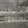 CARVED ROCK CRYSTAL parure handmade in Sterling by Byron & Scott, of Colorado.