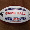 2004 AFC Championship Game Ball