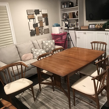 Statesville chair company1961 dining set - Mid-Century Modern