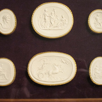 James Tassie (1735–1799), Moulds for Wedgwood