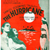 "Movie Sheet Music "" HURRICANE"" 1937, DOROTHY LAMOUR, JON HALL"